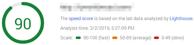 Pagespeed Without WP Rocket Unoptimized